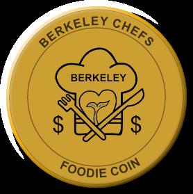 BerkeleyChefs - Gold Foodie Coin