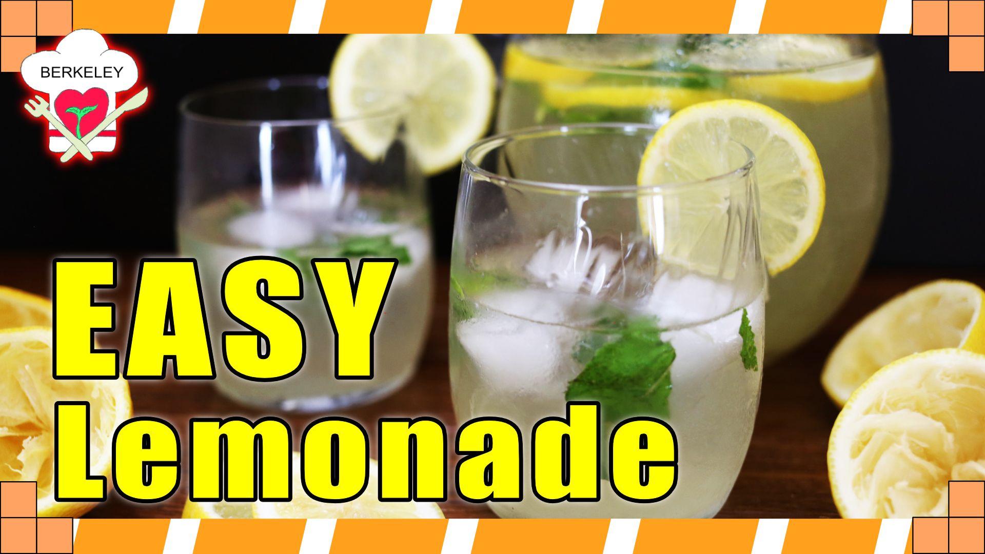 homemade lemonade, lemonade recipe