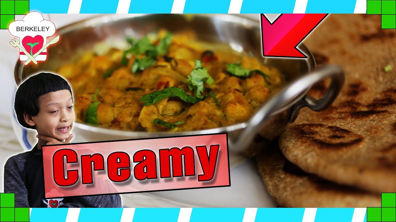 Jenny's Creamy Chickpea Curry Recipe
